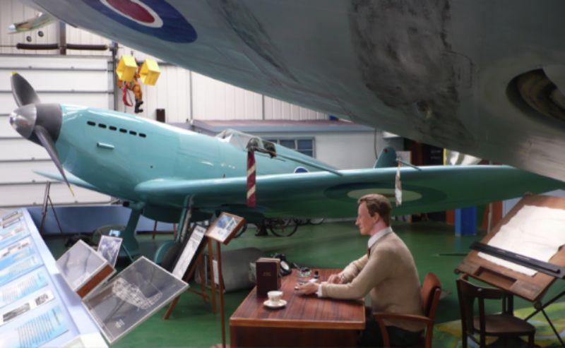 R.J. Mitchell and Supermarine Prototype K5054