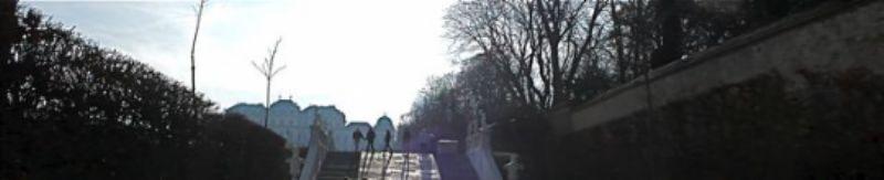 Walking in the Belvedere