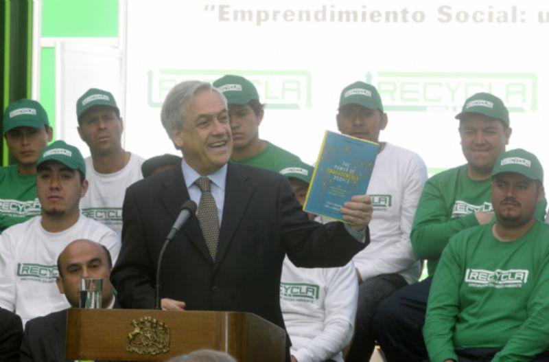 President Piñera has the Power