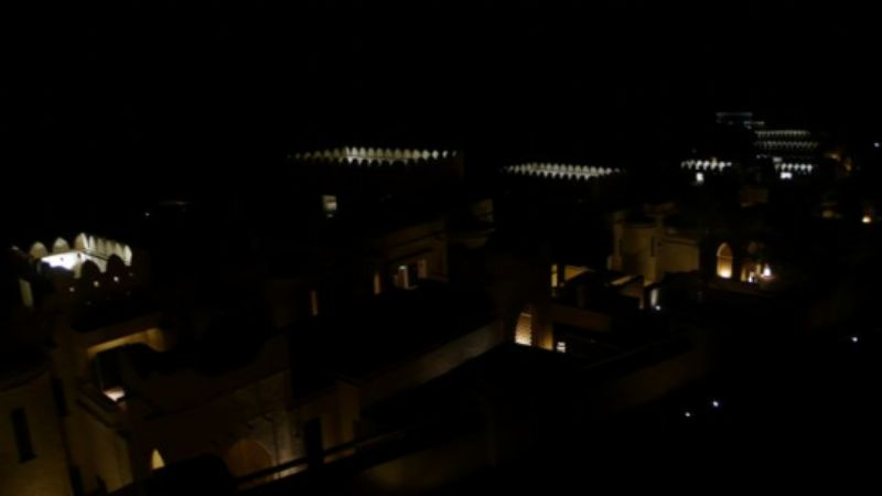 Nightscape at Qasr al Sarab