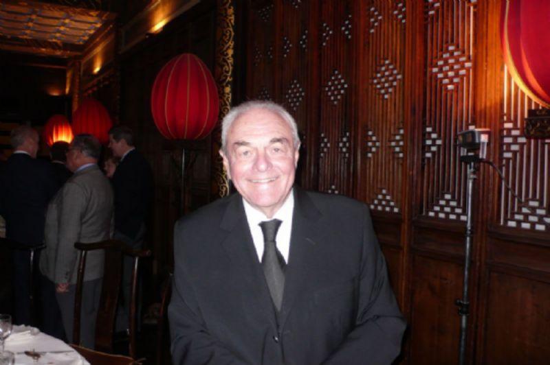 GRI Chairman Mervyn King at dinner on first night
