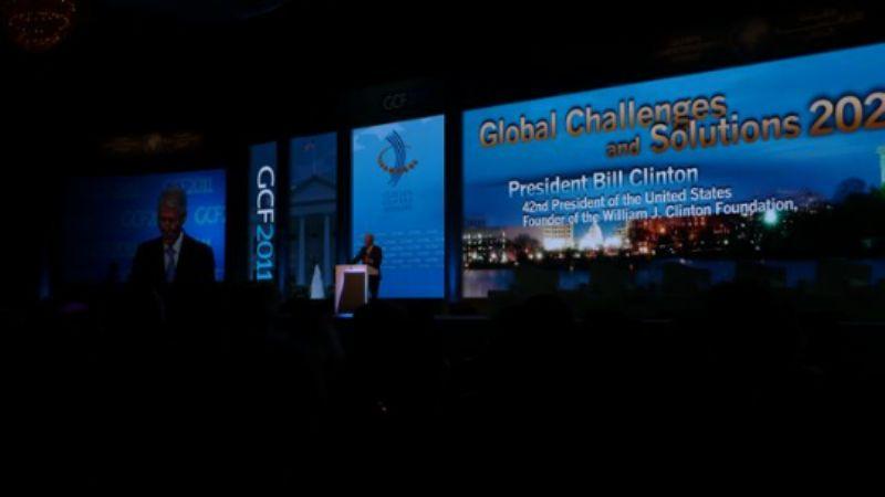 Bill Clinton's session