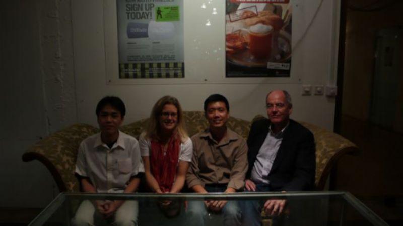 Allen, Amy, Kevin, me