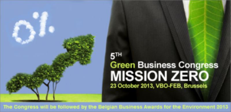 Banner for the Green Business Congress
