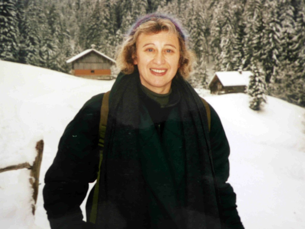 Elaine in Wengen 2