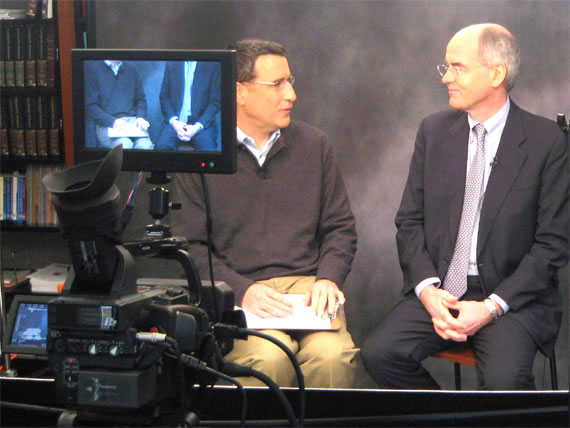 On Screen: Interviewed by Paul Michelman at Harvard Business School Press, 2007