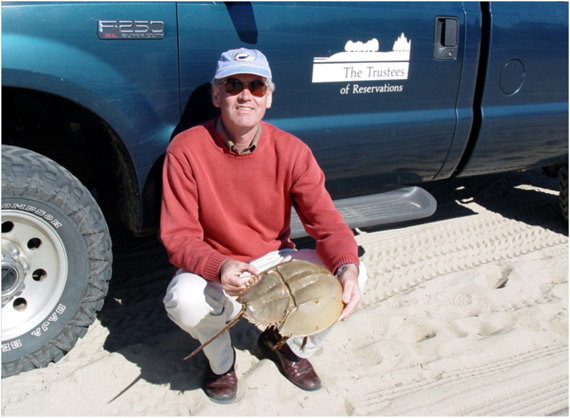 Natural wonder: On Cape Cod with (dead) Horseshoe crab in 2003