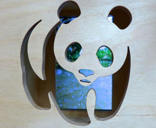 WWF cut-out Panda