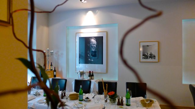 Willy Brandt photograph in BSD dinner restaurant