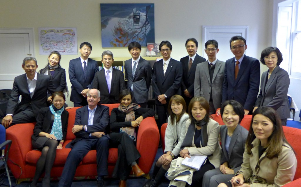E-Square study tour group from Japan