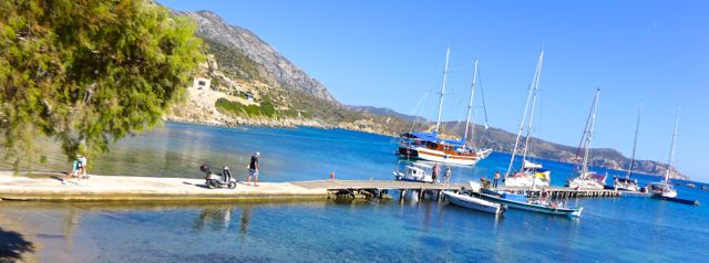 The jetty at Knidos