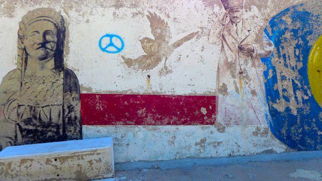 Graffiti at Kaş, 1