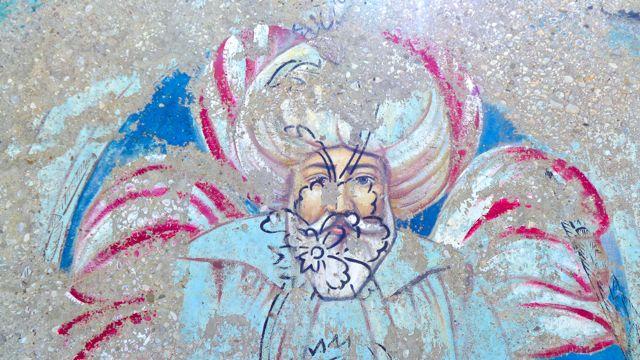 Graffiti in Kaş, 2