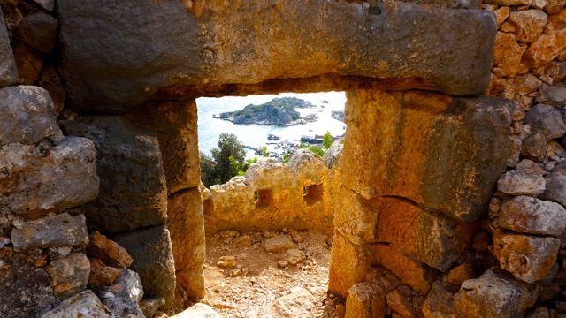 Gateway in the citadel