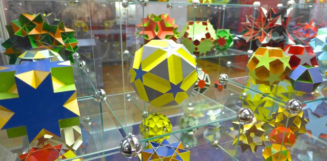 Geodesic shapes in the Maths section