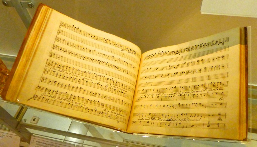Sheet music composed by Handel to support the Foundling Hospital