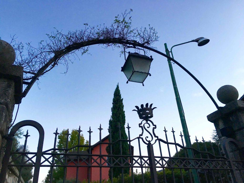 Gates to the estate